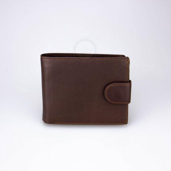 Коричневый кошелек мужской Blanco Q511
