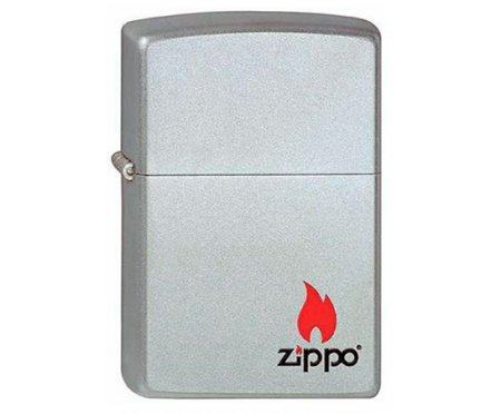Зажигалка Satin Chrome Zip205z