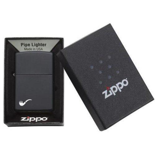 Зажигалка Zippo black matte pipe lt Zip218pl