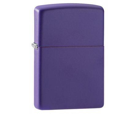 Зажигалка ZIPPO Classic с покрытием Purple Matte Zip237