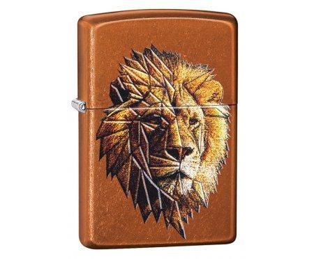 Зажигалка Zippo Polygonal Lion Zip29865