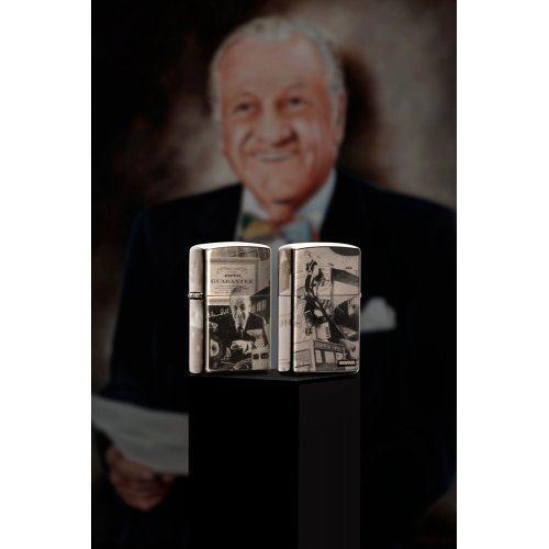 Зажигалка Zippo George Blaisdell Black Ice® Zip49134