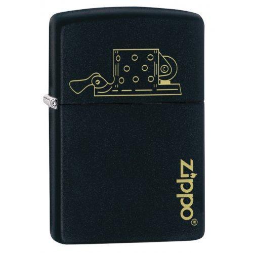 Зажигалка ZIPPO Classic с покрытием Black Matte Zip49218