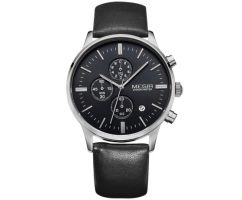Часы Megir Chrono black W0015