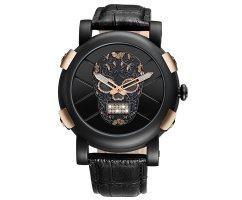Часы Skone Skull gold W099