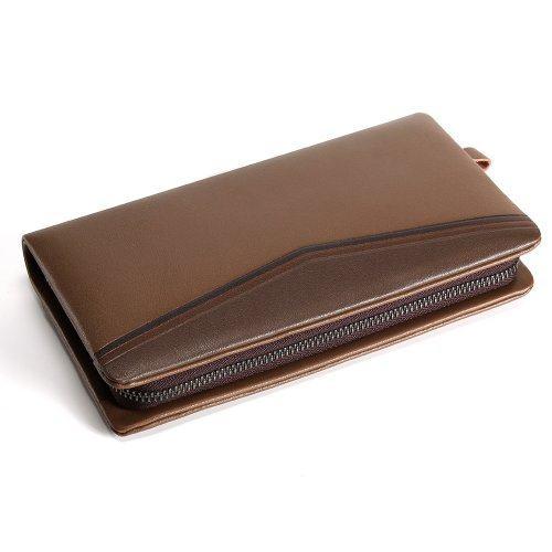 Джэй коричневый мужской клатч Q1089