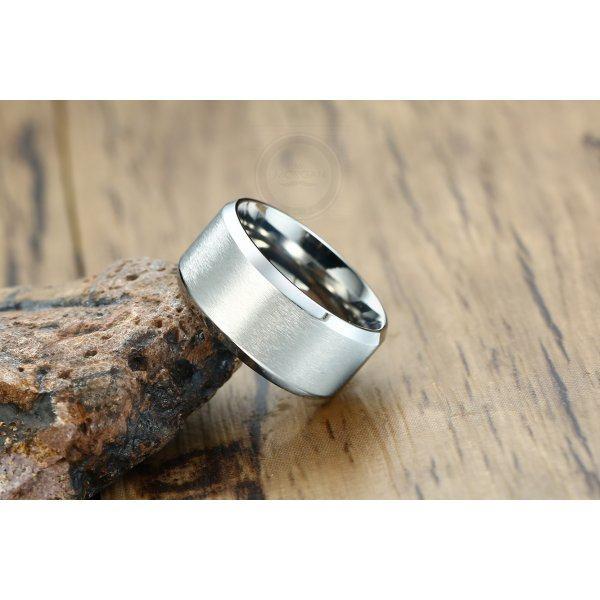 Базовое кольцо под гравировку широкое R191