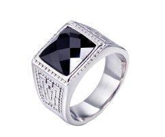 Перстень с ониксом R198