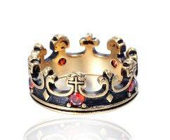 Кольцо в виде короны R203