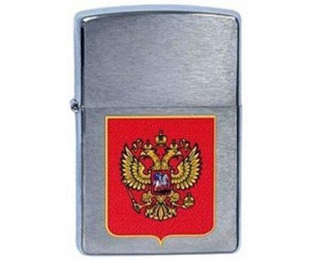 Зажигалка Coat of Arms Russian Zip200RU