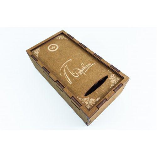 Коробка деревянная Поздравляю
