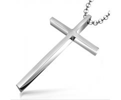 Кулон крест классический K123