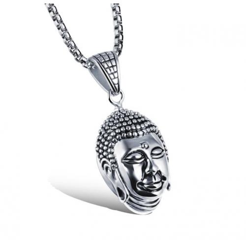 Кулон большой Будда