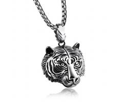 Кулон тигр из стали K54