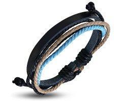 Плетеный браслет PL219