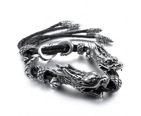 Браслет с драконами QB6878