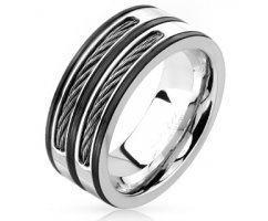 Кольцо стальное с  тросами SPIKES R4604