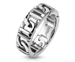 Кольцо-цепочка стальное SPIKES R9013