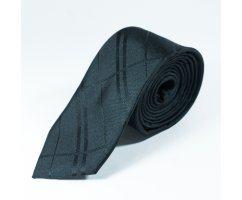 Pierre галстук черный в полоску NT26