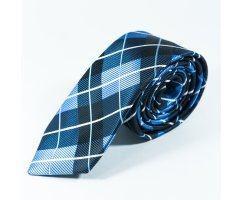 Thierry галстук синий в полоску NT13