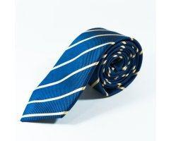 Sebastien галстук синий в полоску NT16