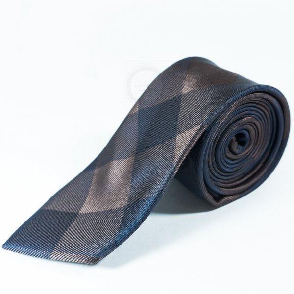 Francois Галстук сине-коричневый NT5