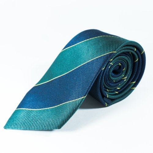 Nathan Галстук зелено-синий NT9
