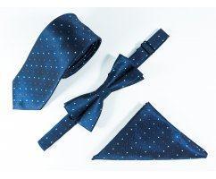 Jacques набор галстук, бабочка, нагрудный платок CP10