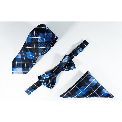 Thierry набор галстук, бабочка, нагрудный платок CP13