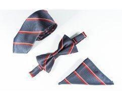 David набор галстук, бабочка, нагрудный платок CP15