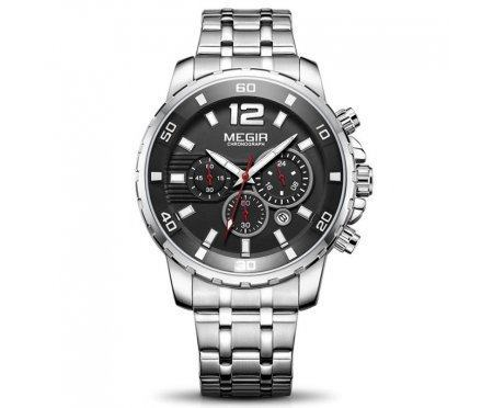 Часы на стальном браслете Megir Santos W0040