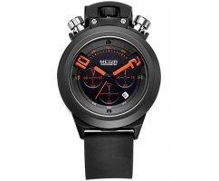 Часы Megir Black Lambo W0016