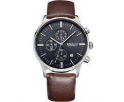 Часы Megir Chrono brown W0012