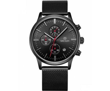 Часы Megir Chronix black W0014