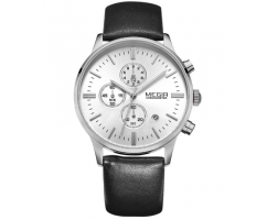 Часы Megir Chrono white W0013