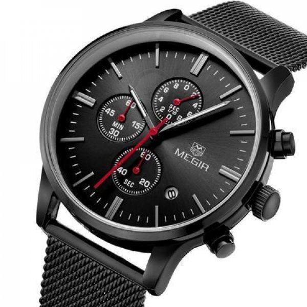 Часы Megir Chrono black