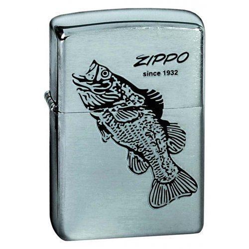 Зажигалка Black Bass Zip200b