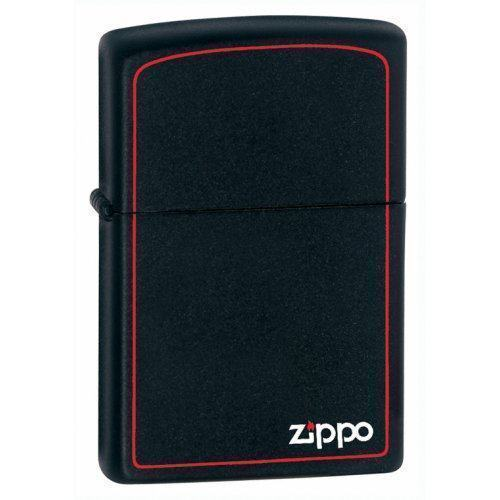 Зажигалка Zippo Reg Black/Z