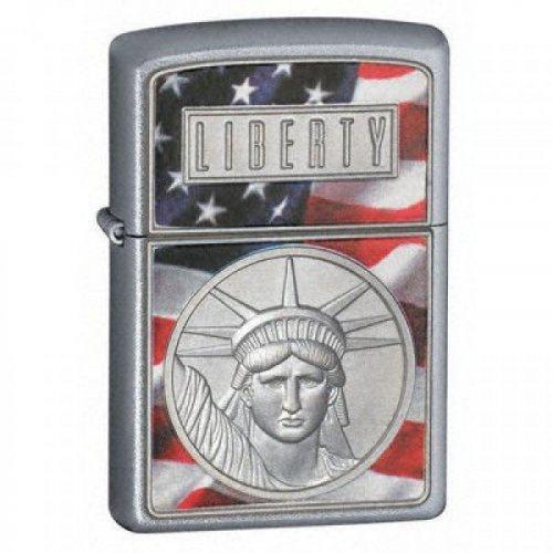 Зажигалка the face o liberty Zip21074