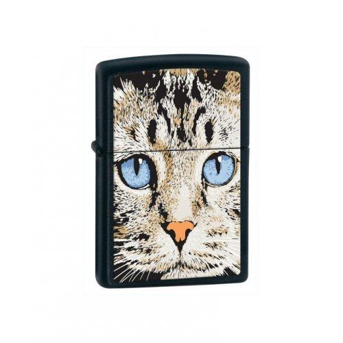 Зажигалка cats face Zip28040
