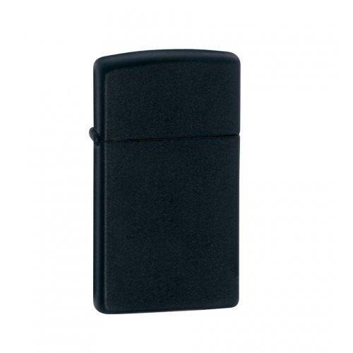 Зажигалка Slim Black Matte Zip1618