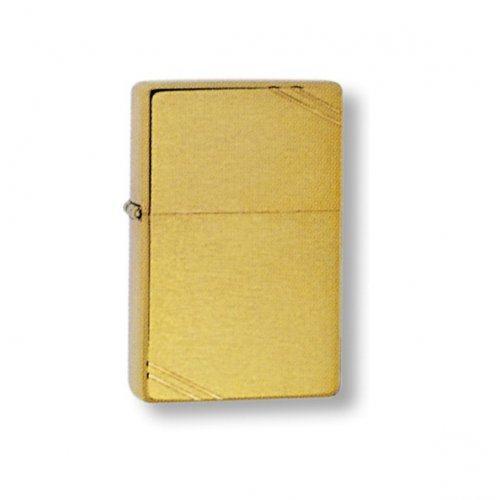 Зажигалка Vintage Brushed Brass Zip240