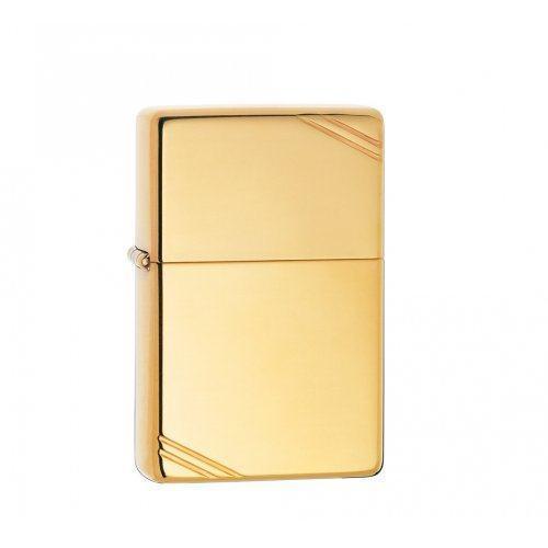 Зажигалка Vintage High Polish Brass Zip270