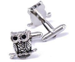Запонки Owl ZP227