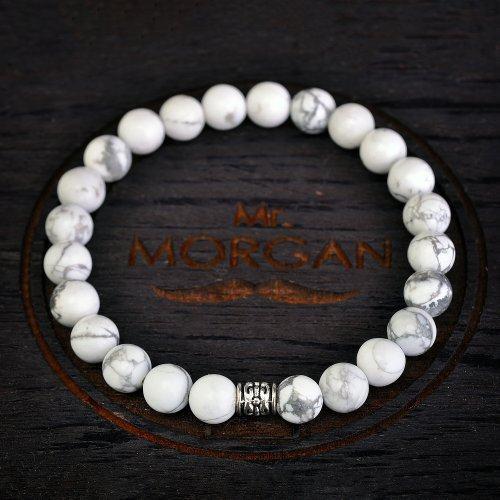 White mist сет из браслетов с кахолонгом