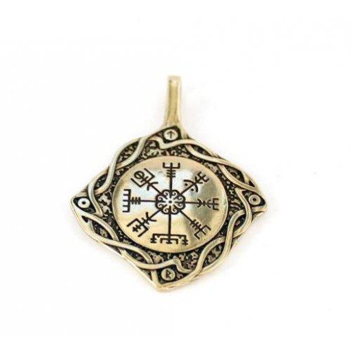 Кулон компас викингов