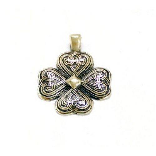Кулон кельтский клевер